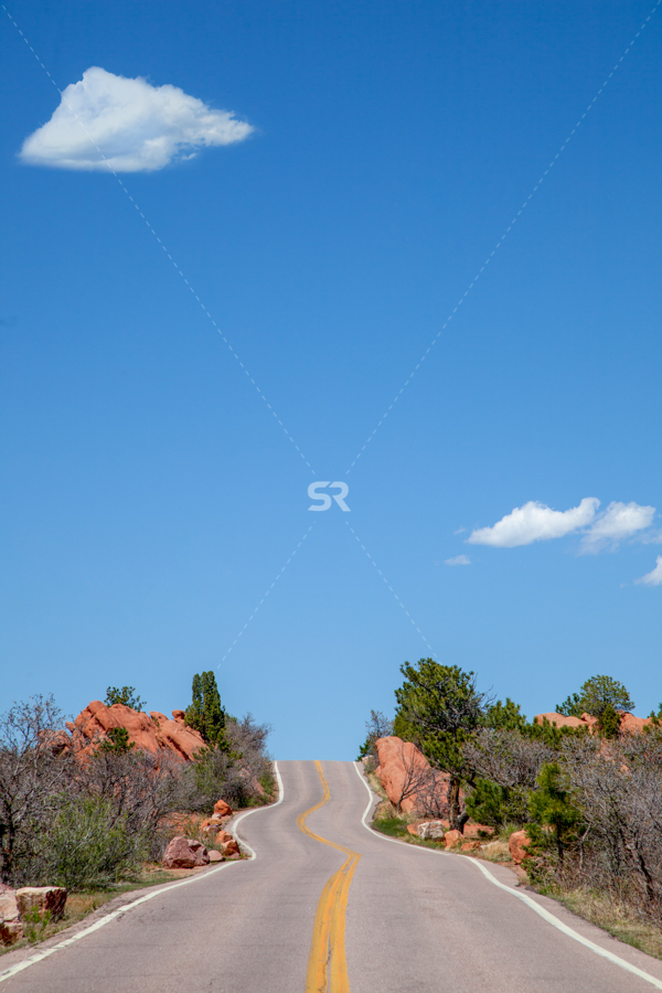 Road to the Garden of The Gods