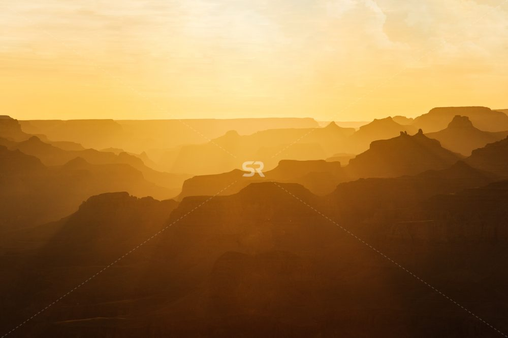 Grand Canyon epic sunset