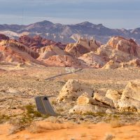 Scenic roads at Valley of Fire