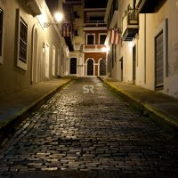 Historic buildings in Old San Juan