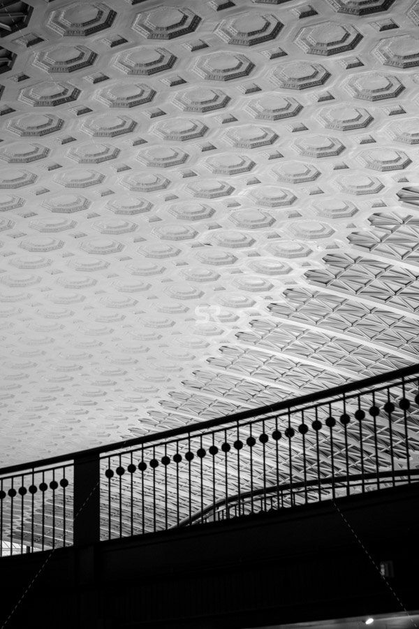 Cealing tiles inside Union Station