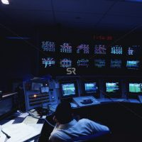 Control room of nuclear power plant