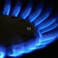 Stove burner flame