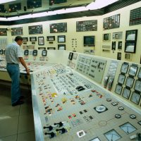 Nuclear power plant control room