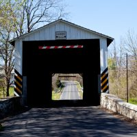 Old Covered Bridge in  in Lancaster County