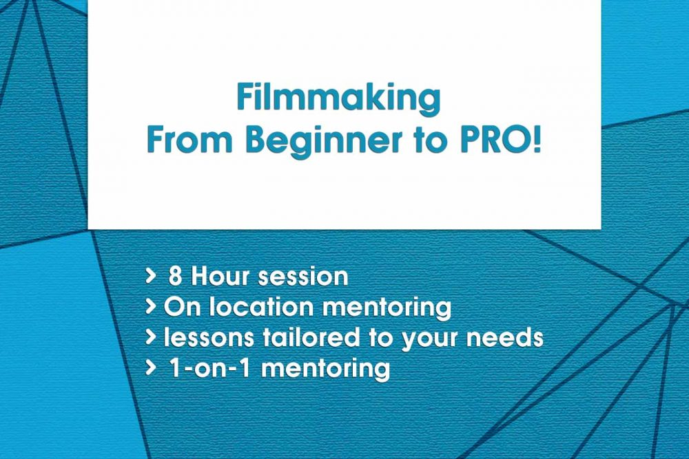 Filmmaking, From Beginner to PRO